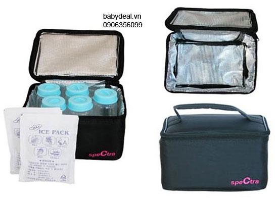 Túi Giữ Lạnh Sữa Spectra cho bé, shop mẹ và bé, giá rẻ tại tp hcm