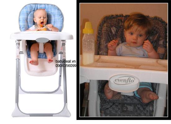 Ghế Ăn Evenflo cho bé, shop mẹ và bé, giá rẻ tại tp hcm
