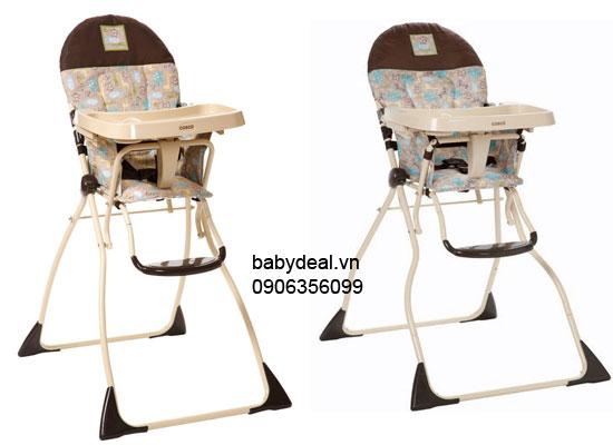 Ghế Ăn Cosco Slim Fold High Chair cho bé, shop mẹ và bé, giá rẻ tại tp hcm