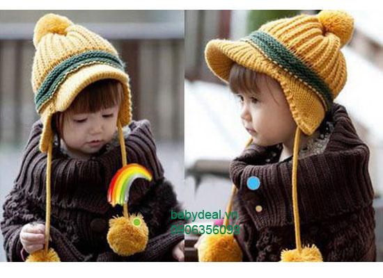 Nón Kết Len Cho Bé cho bé, shop mẹ và bé, giá rẻ tại tp hcm