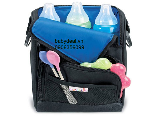 Túi Giữ Lạnh Sữa Munchkin cho bé, shop mẹ và bé, giá rẻ tại tp hcm