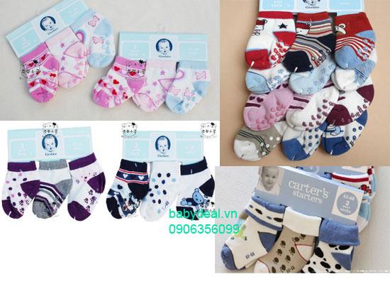 Set 3 Đôi Vớ Carter Cho Bé cho bé, shop mẹ và bé, giá rẻ tại tp hcm