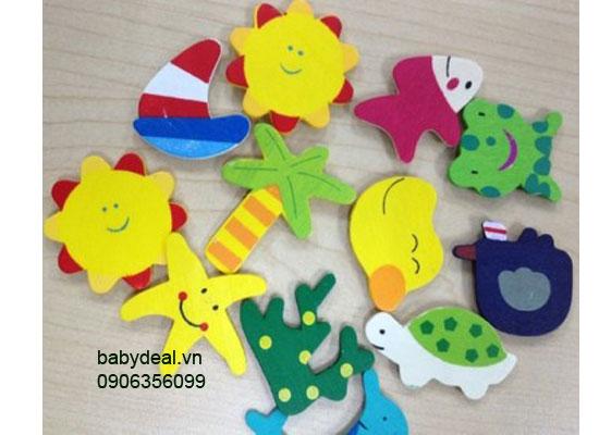 Bộ Nam Châm Hoc Tập Cho Bé cho bé, shop mẹ và bé, giá rẻ tại tp hcm