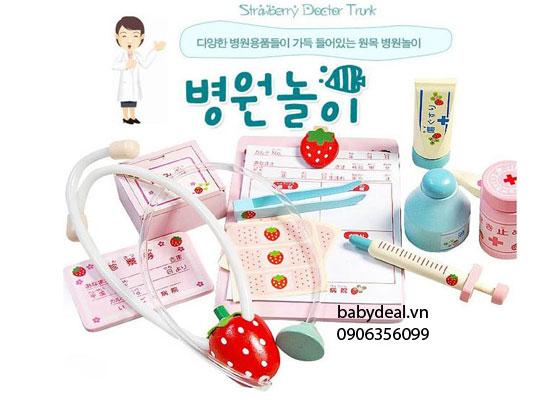 Đồ Chơi Bác Sỹ Gỗ Mother Garden cho bé, shop mẹ và bé, giá rẻ tại tp hcm