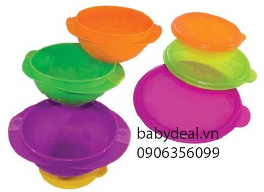 Bộ 3 Chén ăn Sassy cho bé, shop mẹ và bé, giá rẻ tại tp hcm