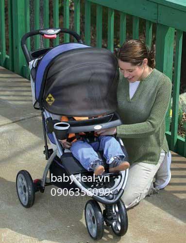 Tấm Lưới Che Nắng Xe Đẩy cho bé, shop mẹ và bé, giá rẻ tại tp hcm
