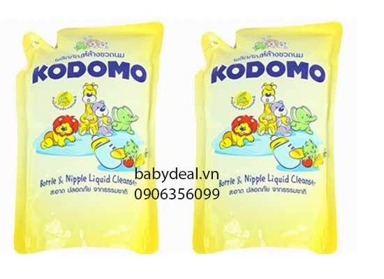 Set 2 Bịch Rửa Bình Sữa Kodomo cho bé, shop mẹ và bé, giá rẻ tại tp hcm
