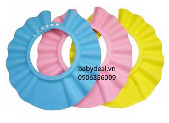 Nón Tắm Gội Đầu Cho Bé cho bé, shop mẹ và bé, giá rẻ tại tp hcm