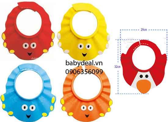Nón Tắm Gội Đầu Hình Thú Cho Bé cho bé, shop mẹ và bé, giá rẻ tại tp hcm