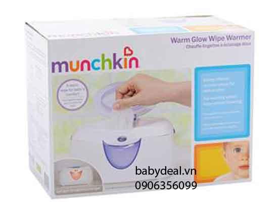 Máy Giữ Ấm Giấy Ướt Munchkin cho bé, shop mẹ và bé, giá rẻ tại tp hcm