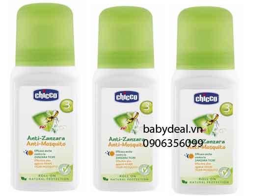 Lăn Chống Muỗi Chicco cho bé, shop mẹ và bé, giá rẻ tại tp hcm