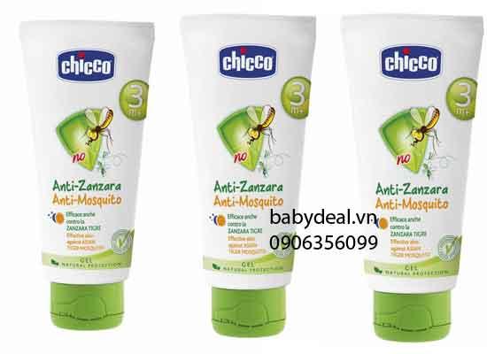 Kem Chống Muỗi Chicco cho bé, shop mẹ và bé, giá rẻ tại tp hcm