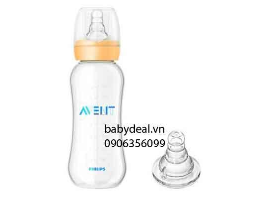 Bình Sữa Avent Cổ Chuẩn 300ml cho bé, shop mẹ và bé, giá rẻ tại tp hcm