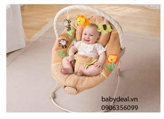 Ghế Rung Summer Safari cho bé, shop mẹ và bé, giá rẻ tại tp hcm