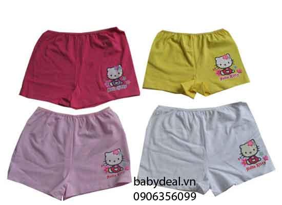 Quần Lót Đùi Hello Kitty - Set 3 Cái cho bé, shop mẹ và bé, giá rẻ tại tp hcm