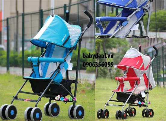 Xe Đẩy Bé Seebaby S02-1 cho bé, shop mẹ và bé, giá rẻ tại tp hcm