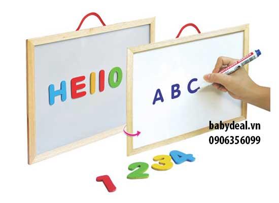 Bảng Chữ Cái Nam Châm Winwintoys cho bé, shop mẹ và bé, giá rẻ tại tp hcm