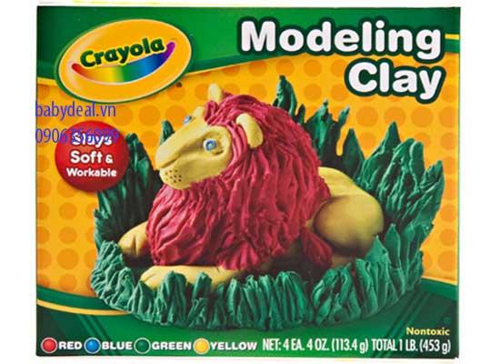 Đất Nặn 4 Màu Crayola cho bé, shop mẹ và bé, giá rẻ tại tp hcm