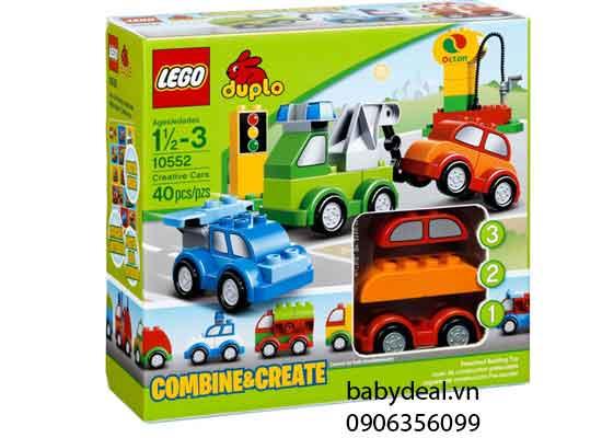 Đồ Chơi Lego Duplo - Xe Hơi Sáng Tạo