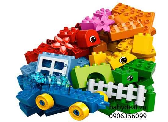 Thùng Lego Duplo Xếp Hình Sáng Tạo cho bé, shop mẹ và bé, giá rẻ tại tp hcm