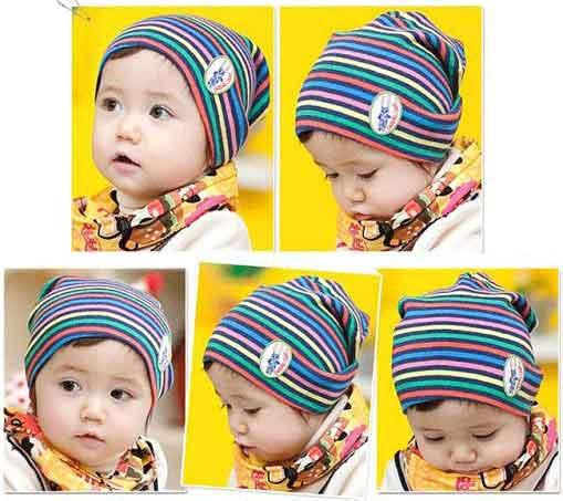 Nón Dệt Kim Cho Bé Hình Sọc cho bé, shop mẹ và bé, giá rẻ tại tp hcm