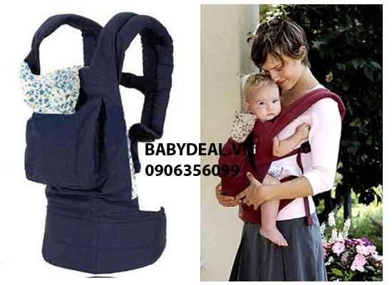 Địu Em Bé 4 Tư Thế cho bé, shop mẹ và bé, giá rẻ tại tp hcm