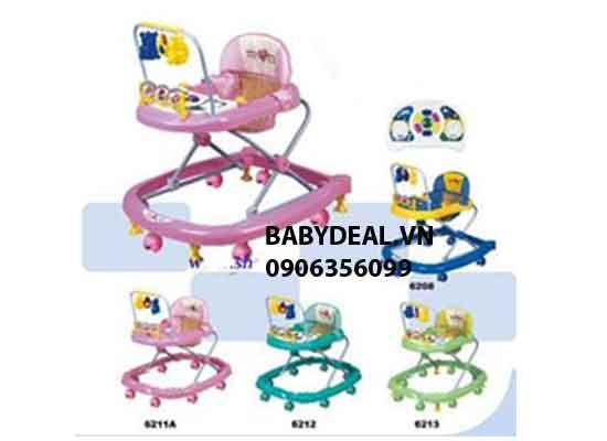 Xe tập Đi Có Khóa Ngừng 6209 cho bé, shop mẹ và bé, giá rẻ tại tp hcm