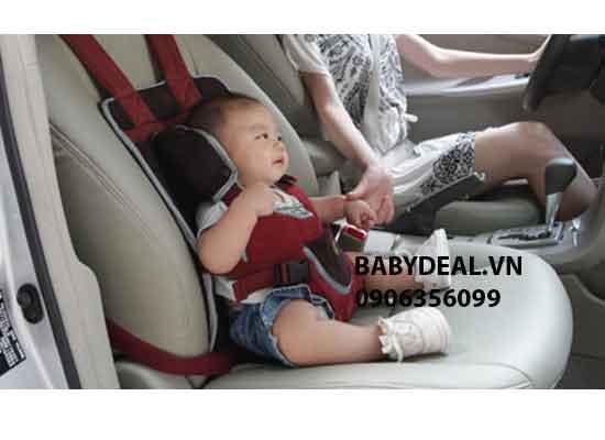 Đai Ghế Ngồi Xe Ô Tô Đa Năng cho bé, shop mẹ và bé, giá rẻ tại tp hcm