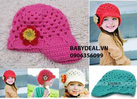 Nón Len Lưới Cho Bé cho bé, shop mẹ và bé, giá rẻ tại tp hcm