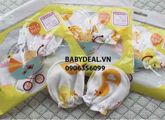 Bao Tay Cho Bé Sơ Sinh - Set 5 Đôi cho bé, shop mẹ và bé, giá rẻ tại tp hcm