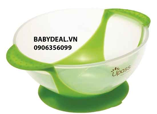 Chén Ăn Chống Đổ Upass cho bé, shop mẹ và bé, giá rẻ tại tp hcm