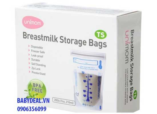 Túi trữ sữa cảm ứng nhiệt Unimom