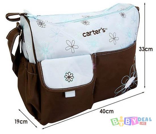 Túi Xách Chống Thấm Carter 2 Chi Tiết cho bé, shop mẹ và bé, giá rẻ tại tp hcm