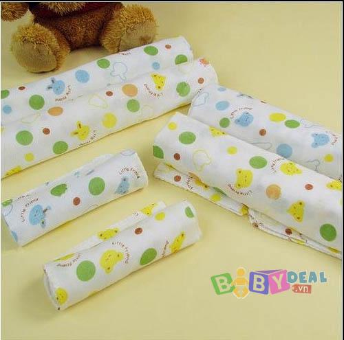 Khăn Sữa Nhật - Set 10 cái cho bé, shop mẹ và bé, giá rẻ tại tp hcm