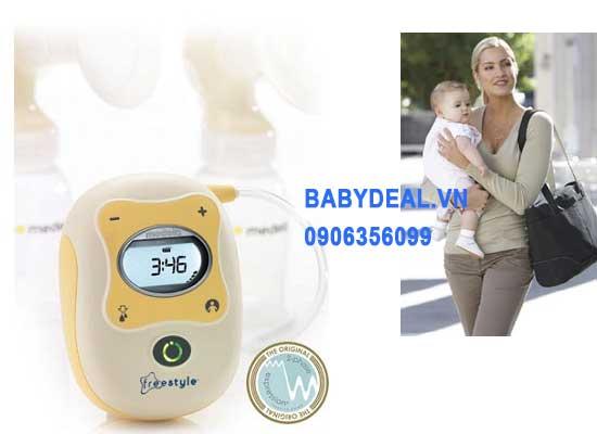 Máy Hút Sữa Medela Freestyle cho bé, shop mẹ và bé, giá rẻ tại tp hcm