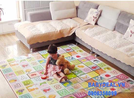 Thảm Maboshi 2 Mặt (1,8m x 2m) cho bé, shop mẹ và bé, giá rẻ tại tp hcm
