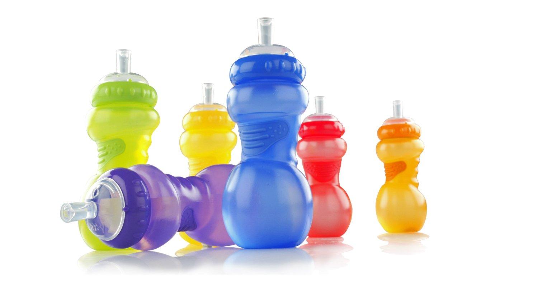 Bình Nước Nuby No Spill Sports Sipper cho bé, shop mẹ và bé, giá rẻ tại tp hcm