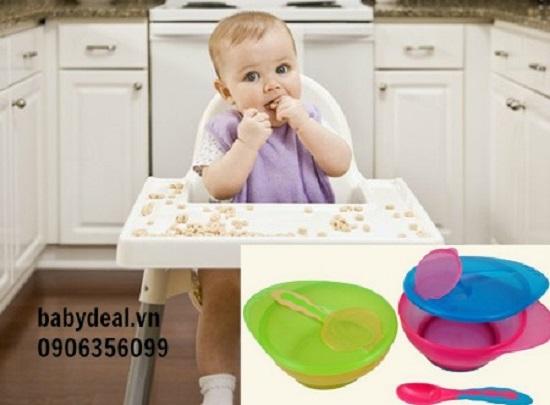 Bộ Chén Muỗng Canpol cho bé, shop mẹ và bé, giá rẻ tại tp hcm