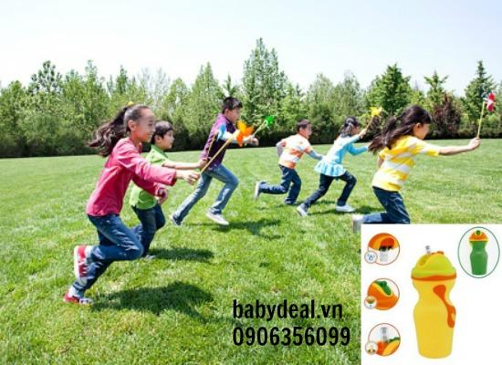 Bình uống nước Chicco 18M+ cho bé, shop mẹ và bé, giá rẻ tại tp hcm