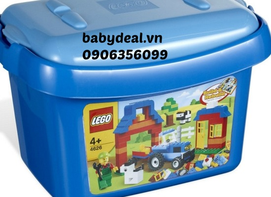 Thùng Gạch Lego Farm Brick Box 4626