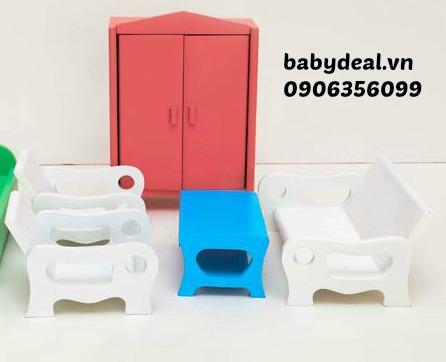 Bộ bàn ghế, giường tủ Edugames cho bé, shop mẹ và bé, giá rẻ tại tp hcm