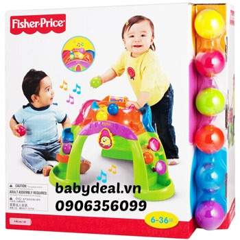 Bàn bắn bóng tập đứng Fisher price cho bé, shop mẹ và bé, giá rẻ tại tp hcm