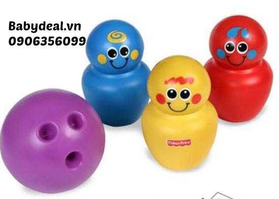 Bowling Fisher Price cho bé, shop mẹ và bé, giá rẻ tại tp hcm
