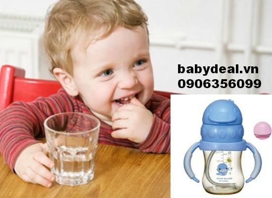 Bình uống nước cho bé Kuku Ku5841 cho bé, shop mẹ và bé, giá rẻ tại tp hcm