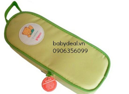 Túi giữ nhiệt ủ ấm bình sữa PIGEON cho bé, shop mẹ và bé, giá rẻ tại tp hcm