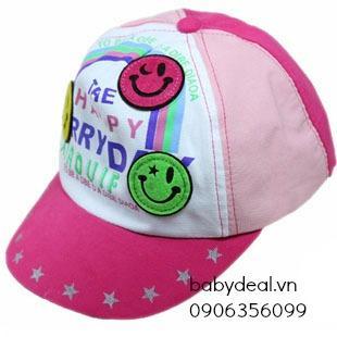 Nón lưỡi trai hình mặt cười cho bé, shop mẹ và bé, giá rẻ tại tp hcm