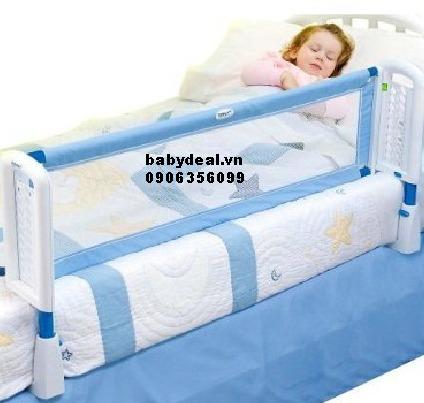 Thanh chắn giường kuku KU6009 cho bé, shop mẹ và bé, giá rẻ tại tp hcm