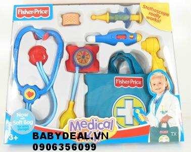 Bộ đồ chơi bác sĩ Fisher-Price cho bé, shop mẹ và bé, giá rẻ tại tp hcm