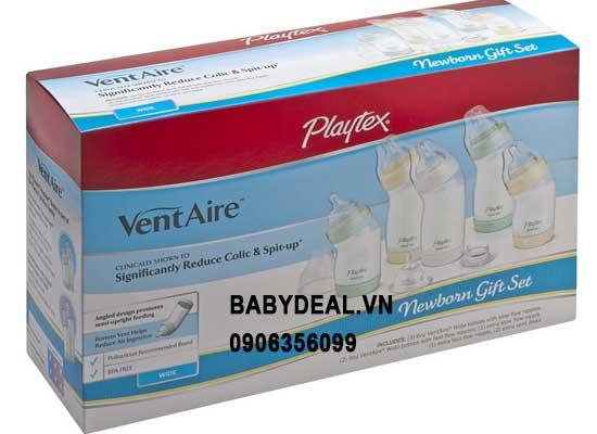 Bình Sữa Playtex Cổ Rộng - New Born Gift Set cho bé, shop mẹ và bé, giá rẻ tại tp hcm