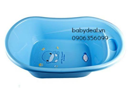 Thau Tắm Nhỏ Kuku 1068 cho bé, shop mẹ và bé, giá rẻ tại tp hcm